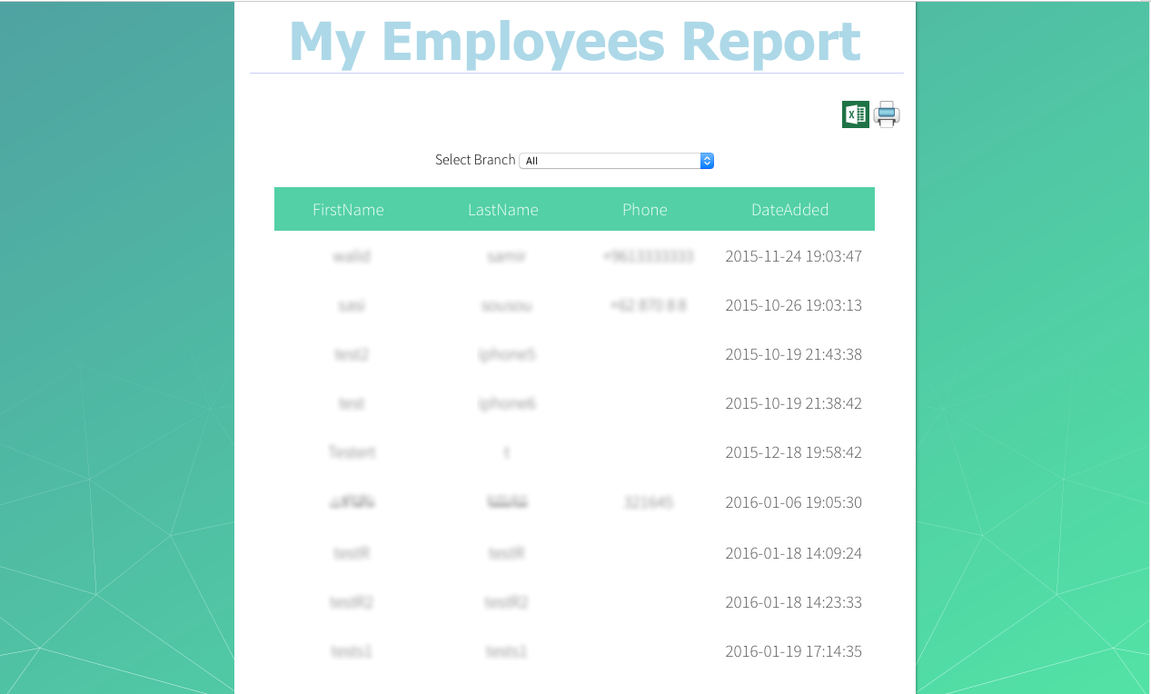 where's my staff Support report employees where's my staff Support report employees